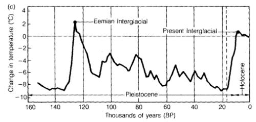 Eemian Interglacial reconstruction