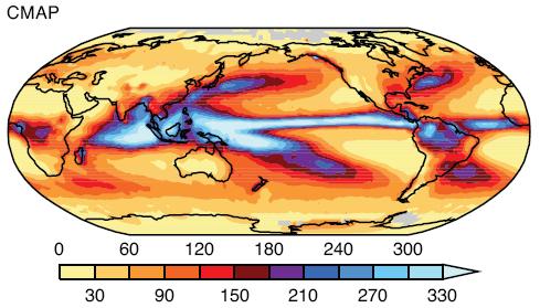 Rainfall 1980-1999
