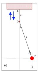 Pendulum-forced